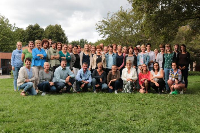 Groepsfoto team